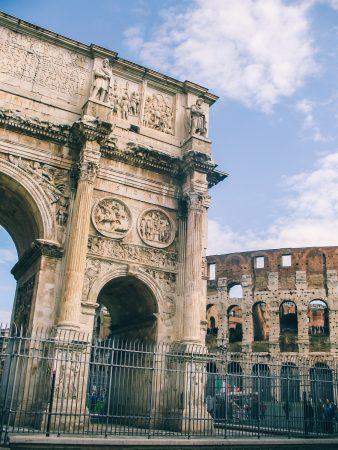 Arc de Constantin et Colisée de Rome