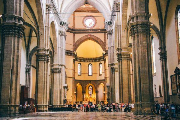 Intérieur de la cathédrale de Florence