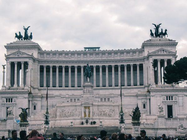 Monument à Victor Emmanuel II à Rome