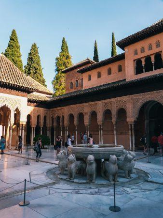 Palais des Lions dans l'Alhambra