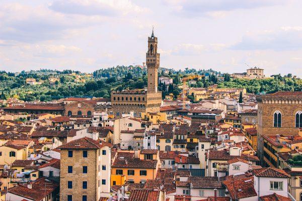 Vue sur Florence depuis le dôme de la cathédrale