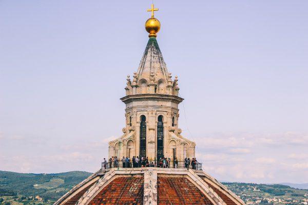 Sommet de la coupole de la cathédrale de Florence