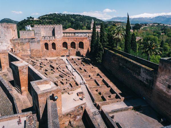 Visite de l'alcazaba de l'Alhambra à Grenade