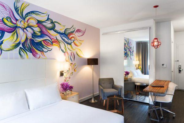 Chambre du NU Hotel à New-York