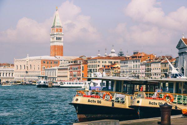Bateaux à Venise