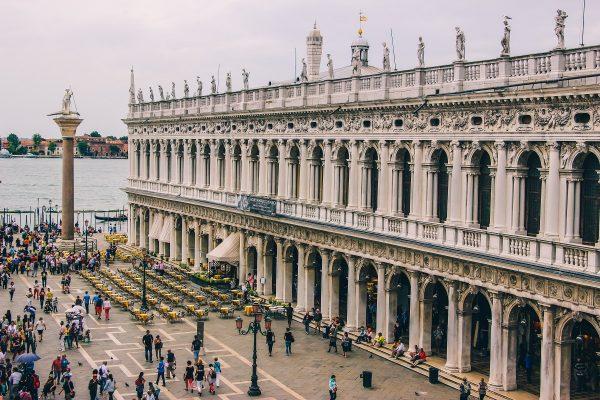 La bibliothèque Marciana de Venise