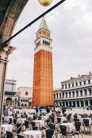 Campanile de la place Saint-Marc à Venise