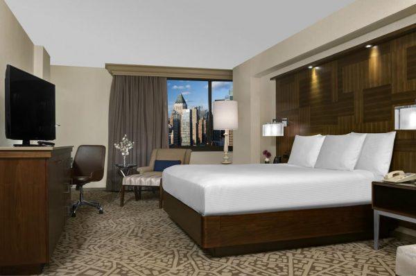Chambre de l'hôtel Hilton Times Square