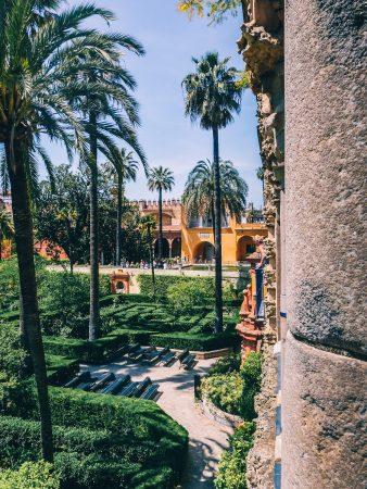 Jardins de l'alcazar de Séville