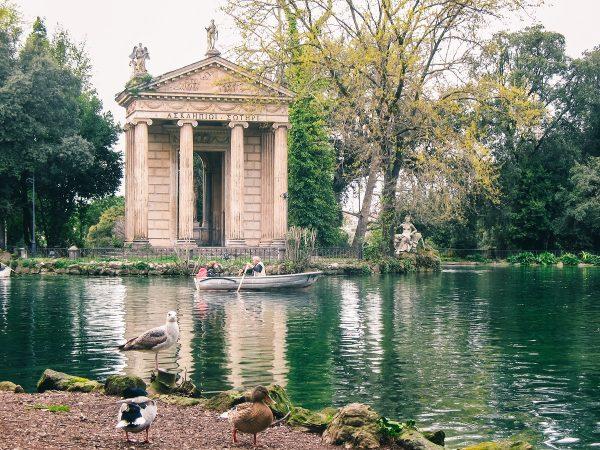 Villa Borghese à Rome