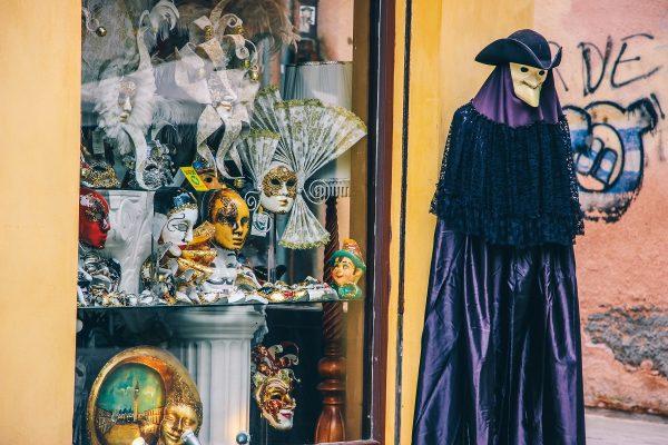 Masques à Venise