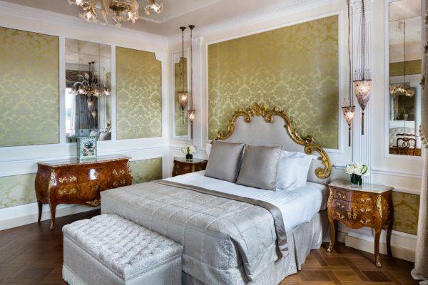 Une chambre du Baglioni Hotel Luna à Venise