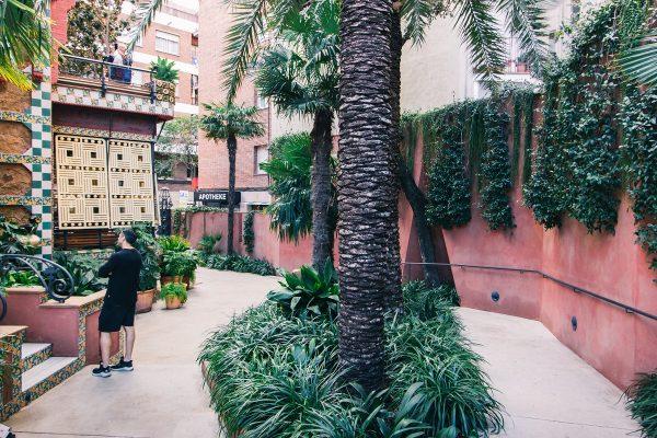 Cour de la Casa Vicens de Gaudi