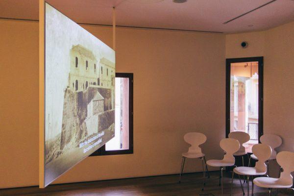 Film projeté durant la visite de la Casa Vicens de Barcelone