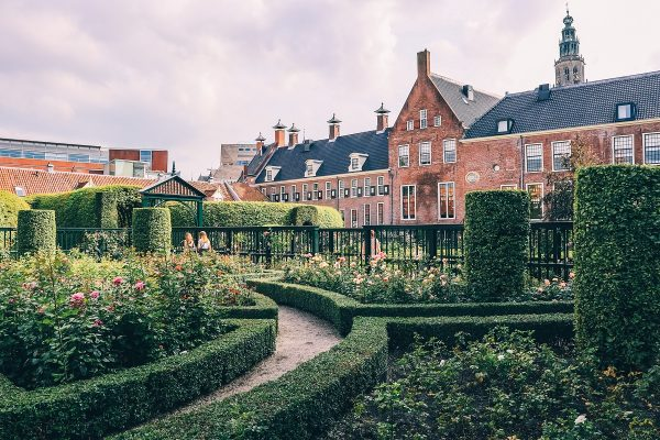 Les jardins du Prinsentuin à Groningen