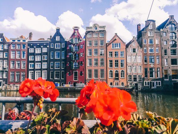 Maisons typiques d'Amsterdam