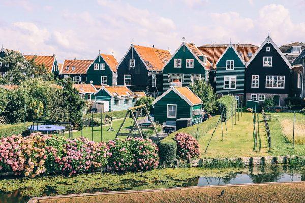 Maisons typiques dans Marken