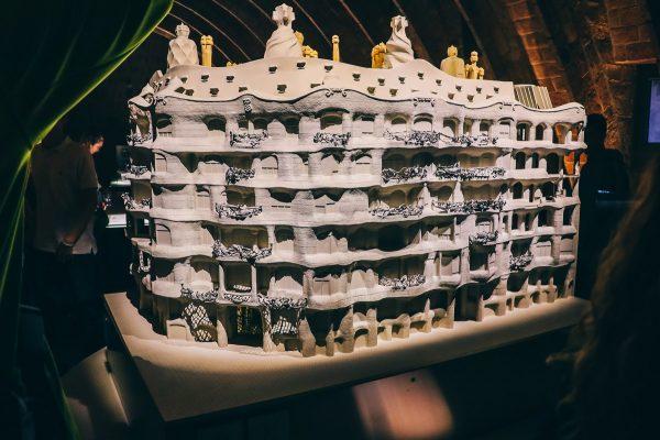 Maquette de la Casa Mila