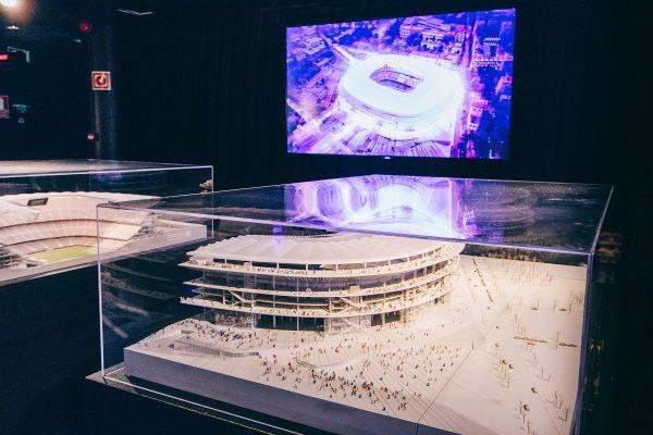 Maquette du futur stade de Barcelone
