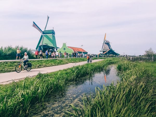 Moulins de Zaanse Schans à visiter aux Pays-Bas