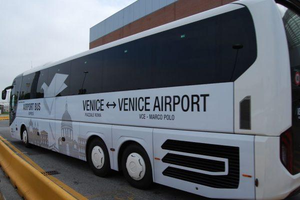 Navette de l'aéroport de Venise