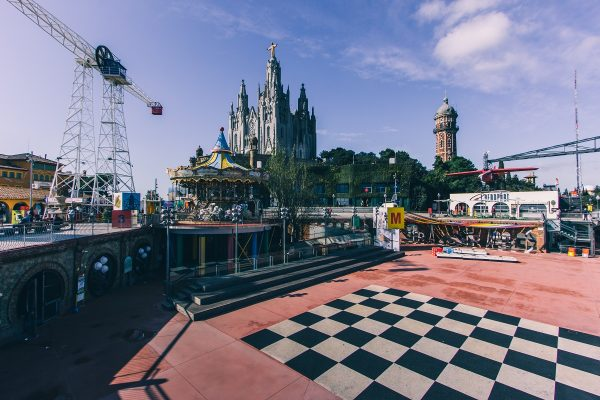 Parc d'attractions de Tibidabo à Barcelone