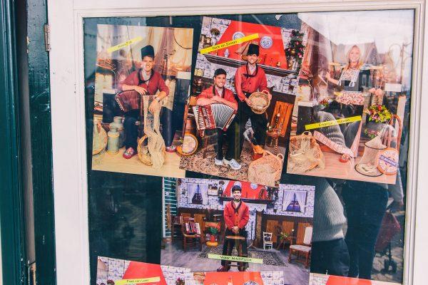 Photos en tenue traditionnelle à Volendam