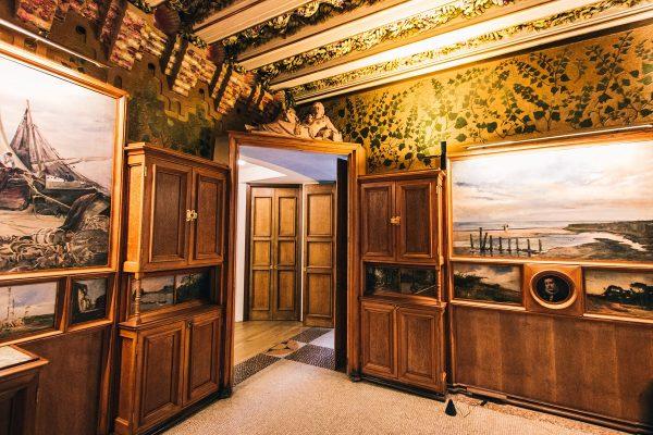 Une pièce durant la visite de la Casa Vicens