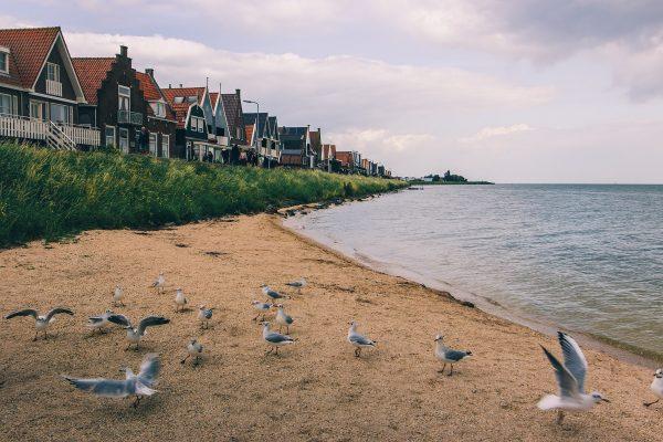 La plage de Volendam