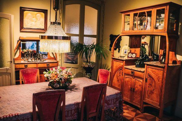Salle à manger de la Casa Mila