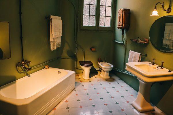 Salle de bain de la Casa Mila