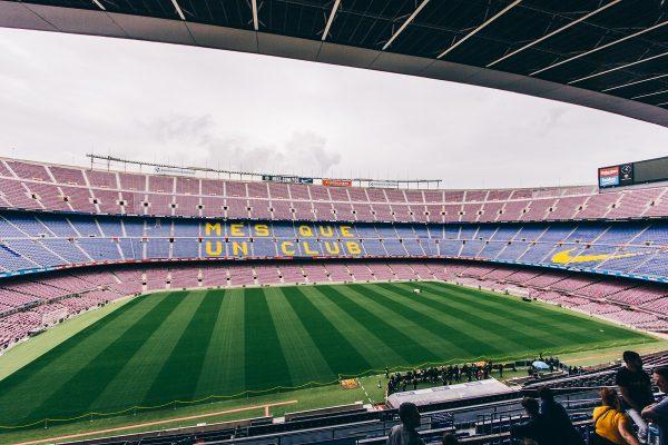Visite du stade de football de Barcelone