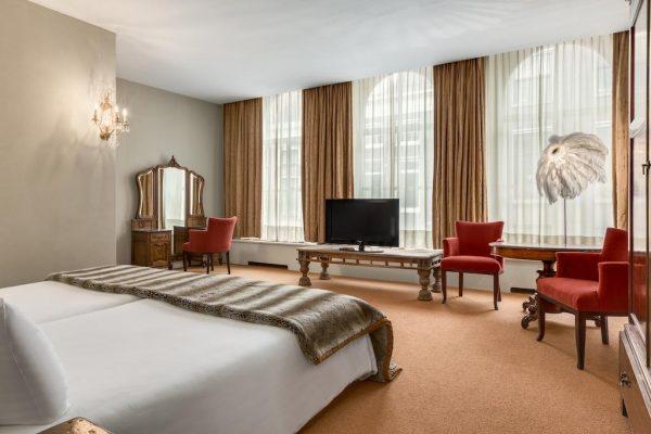 Une chambre du NH Groningen Hotel De Ville