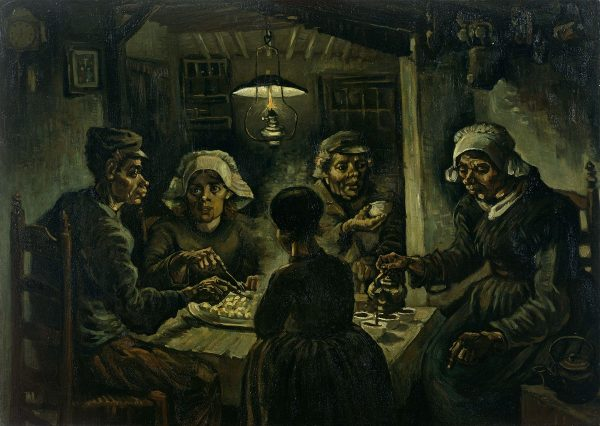 Tableau des Mangeurs de Pommes de terre de Van Gogh