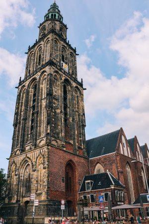 La tour Martini de Groningen