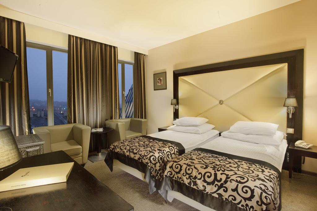 Une chambre du Grandior Hotel de Prague