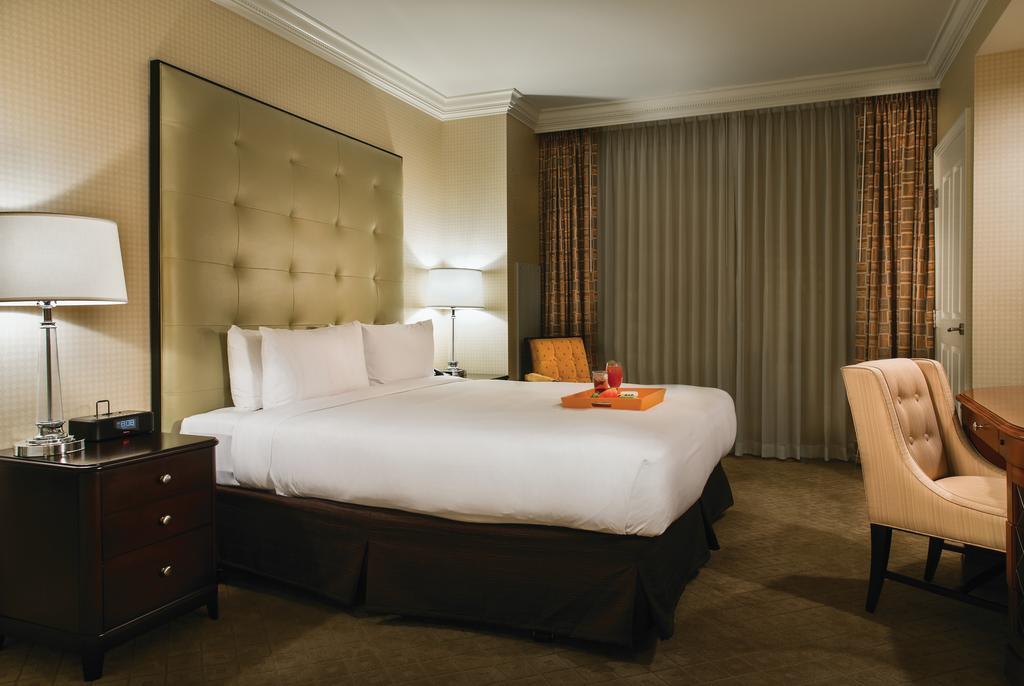 Dans une chambre de l'hôtel Signature MGM de Las Vegas