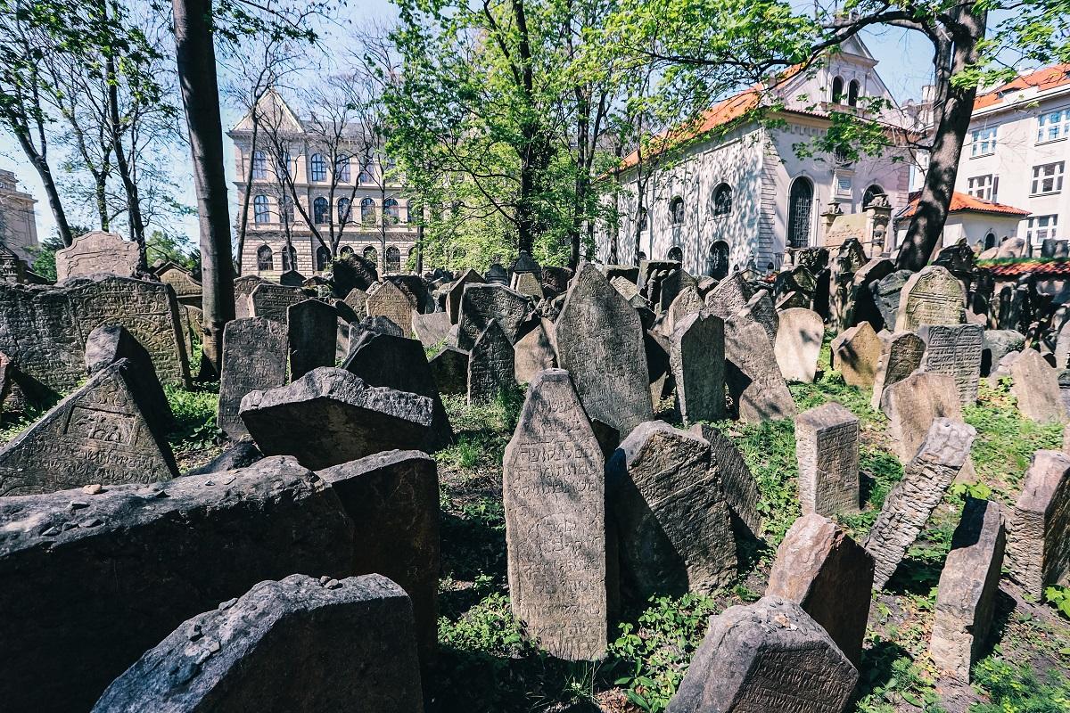 Cimetière juif à Prague