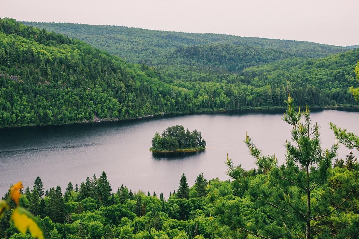 Parc national de la Mauricie au Québec