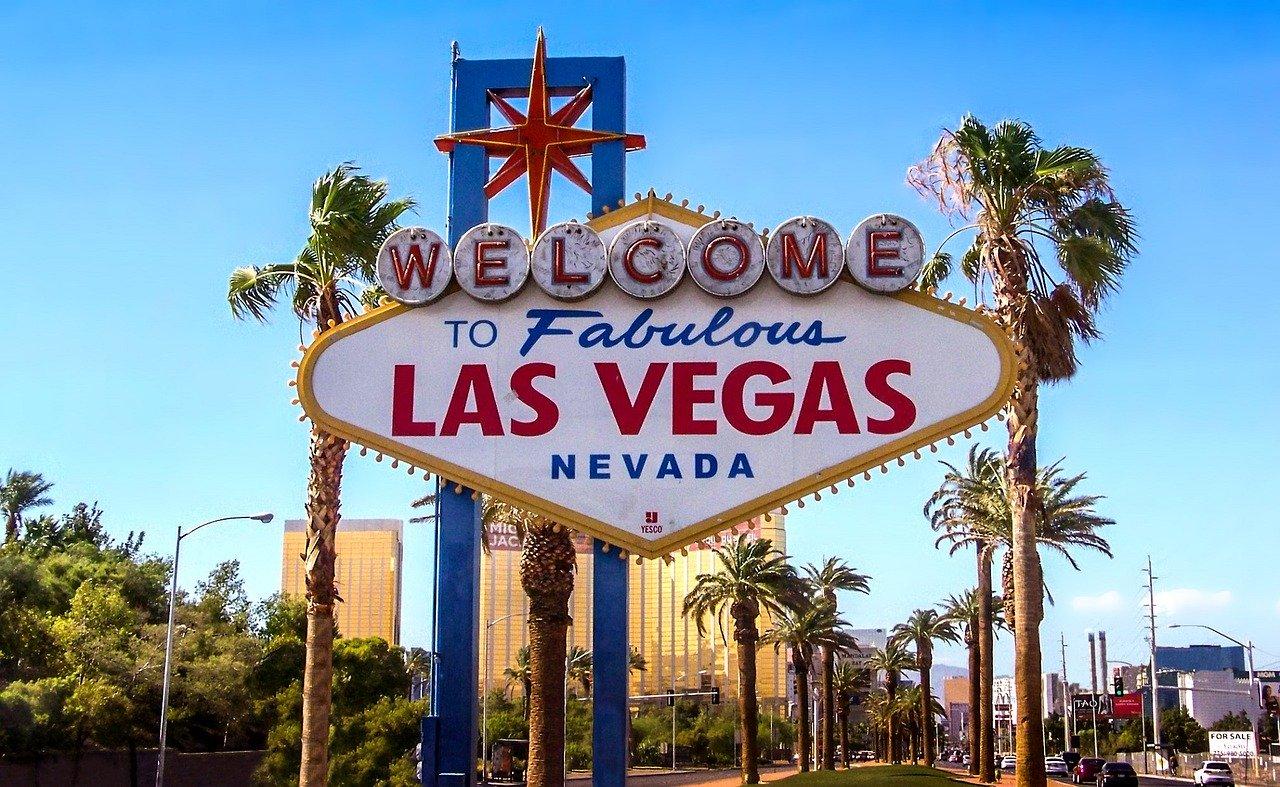 Panneau du Fabulous Las Vegas
