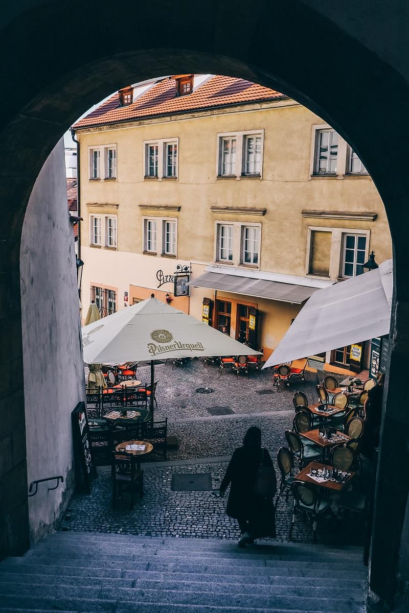 Une ruelle dans Prague