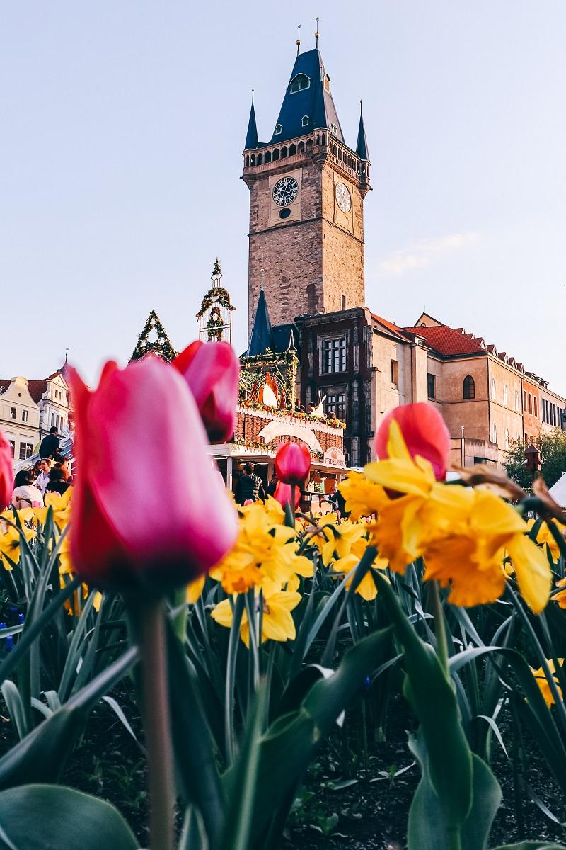 Tour de l'ancien hôtel de ville de Prague
