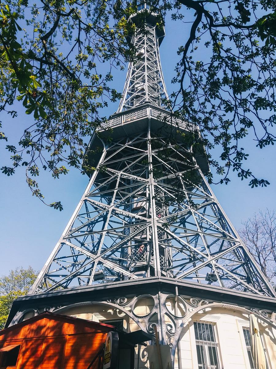 Tour de Petrin à Prague