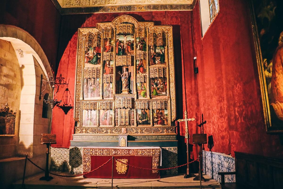 Chapelle dans l'alcazar de Ségovie