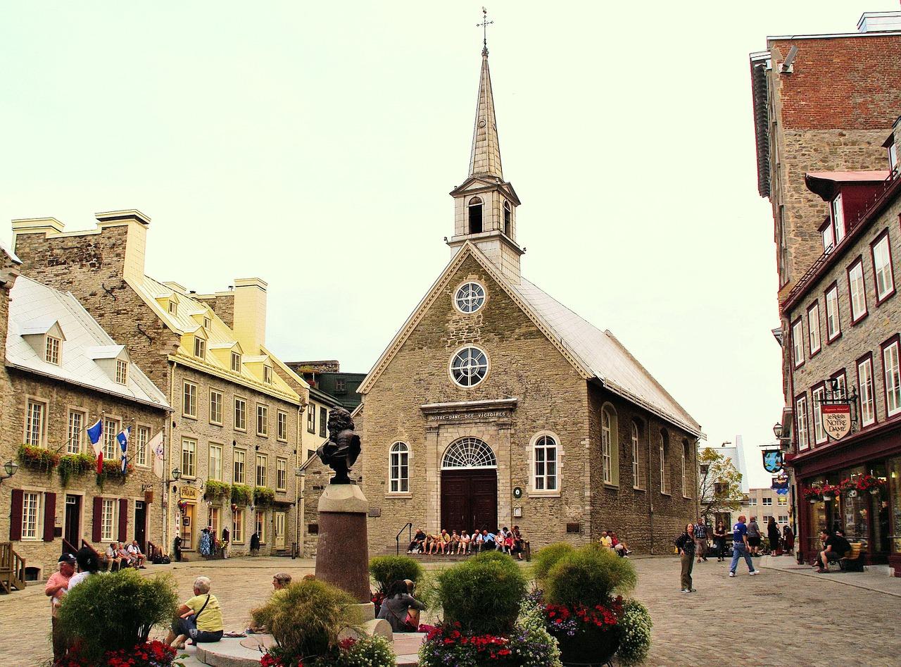 Eglise Notre-Dame-des-Victoires à Québec