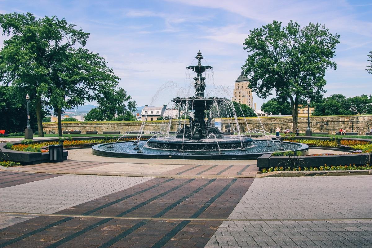 Fontaine de Tourny à Québec