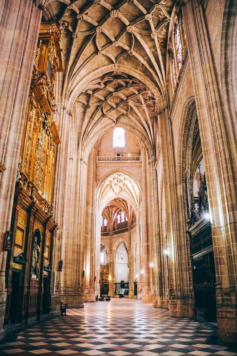 Intérieur de la cathédrale de Ségovie