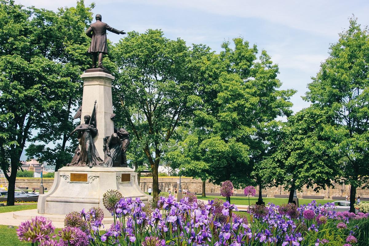 Jardins du Parlement à Québec