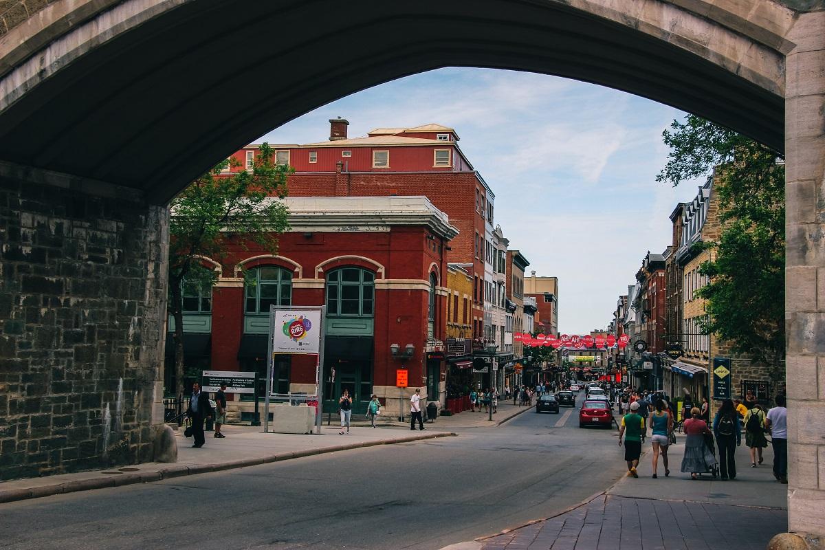 Porte Saint-Jean à Québec