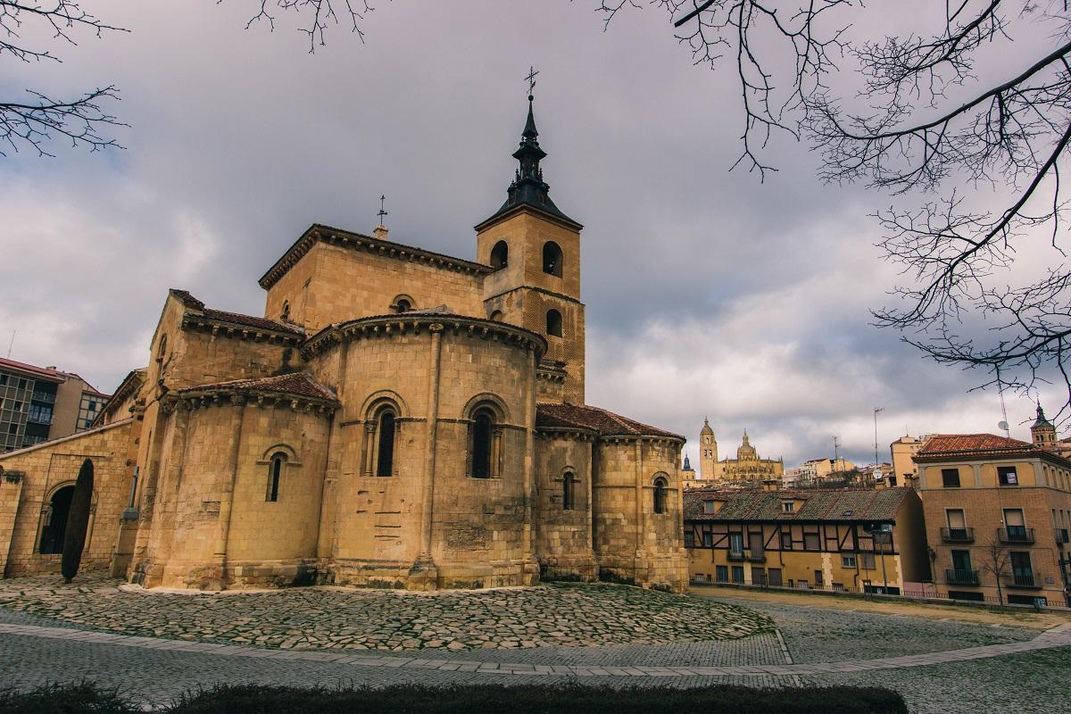 Eglise San Millan à Ségovie